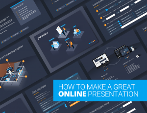 How to make an interactive online presentation