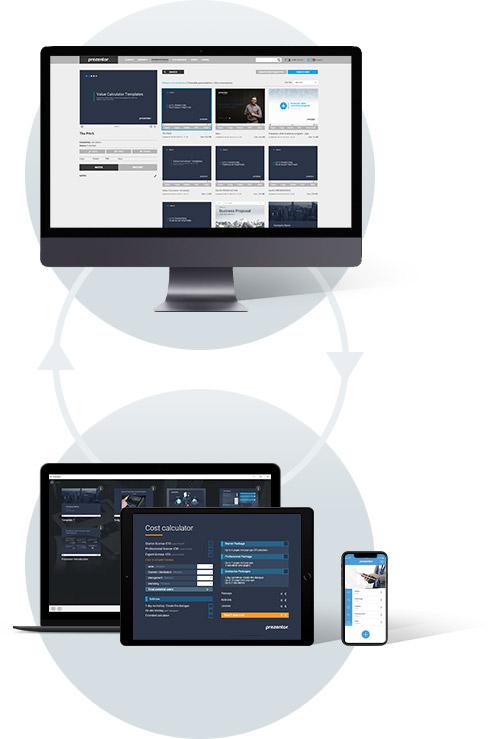 Sales Enablement platform - Prezentor