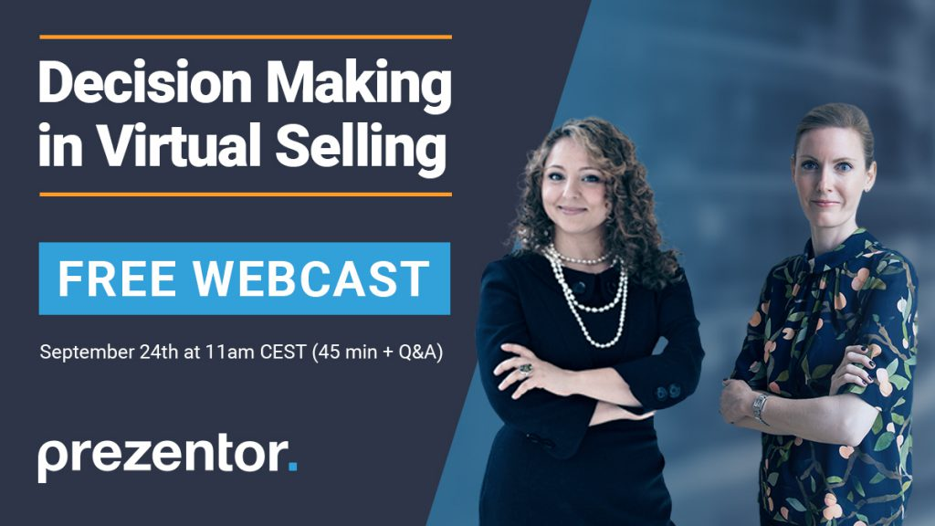 Decision Making in Virtual Selling